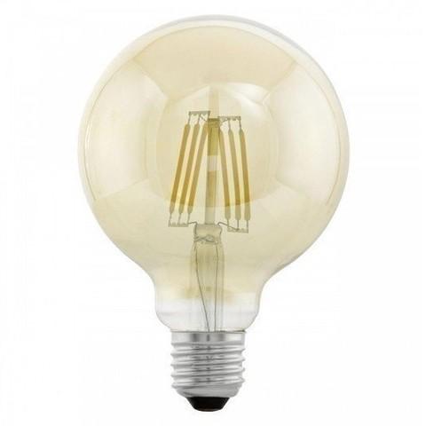 Светодиодная ретро лампа G95 6W E27