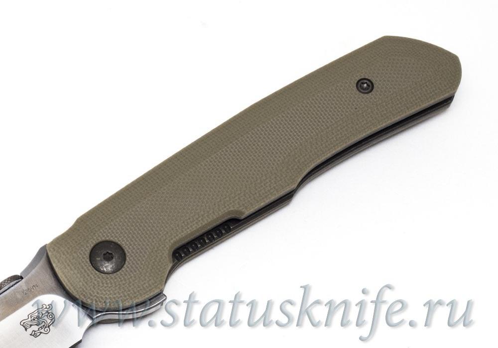 Нож Bob Terzuola Compact Tactical Folder Desert Tan - фотография