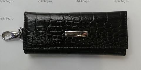 Коричневая ключница из кожи Karya 8908