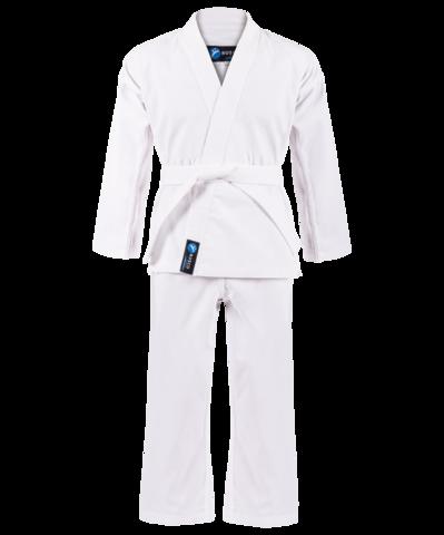 Кимоно для карате для начинающих, белый, р.0/130