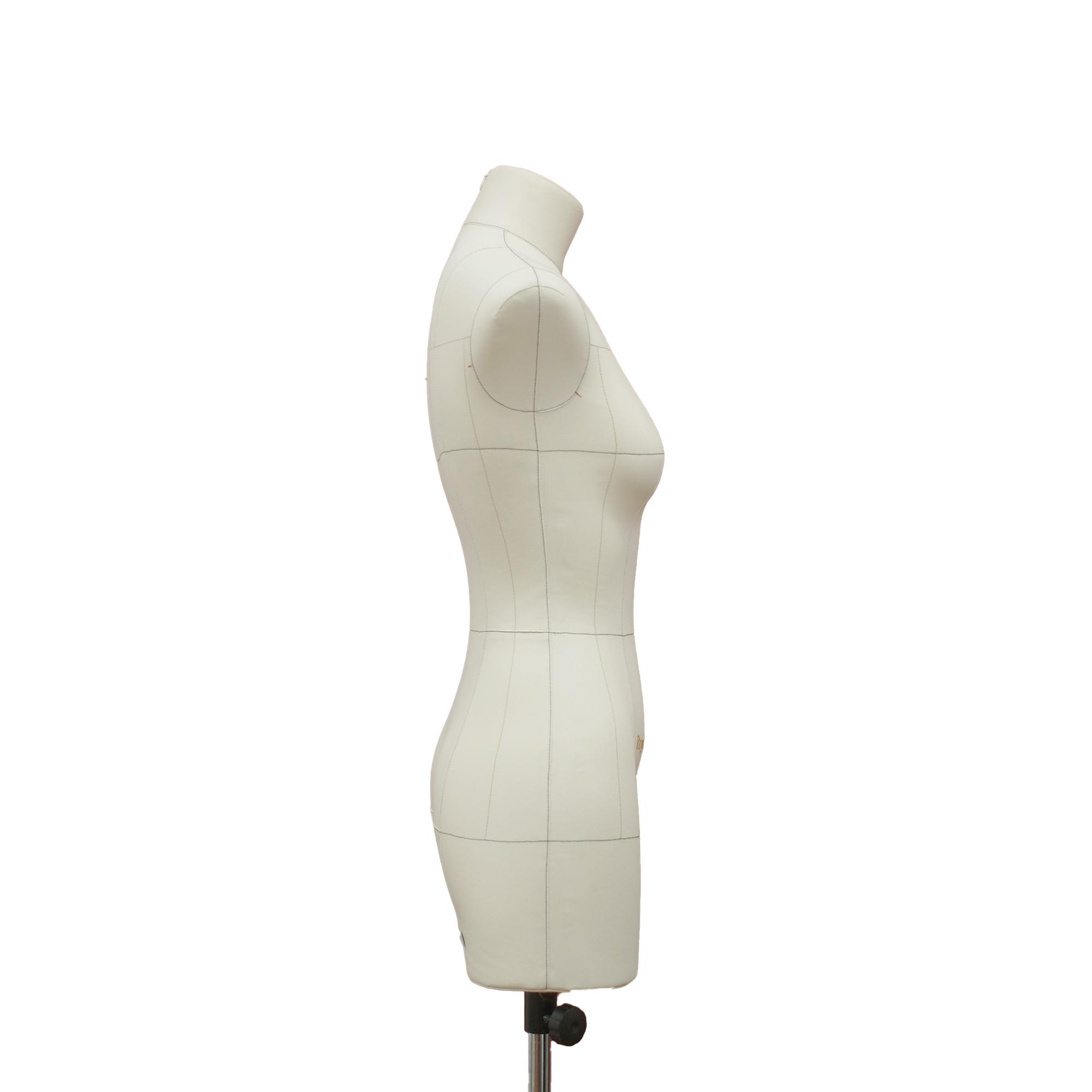 Манекен портновский Моника, комплект Премиум, размер 44, тип фигуры Прямоугольник, бежевыйФото 2