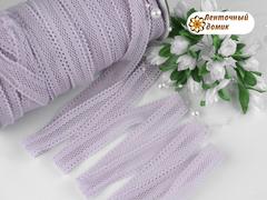 Резинка ажурная для повязок сухая лаванда 16 мм