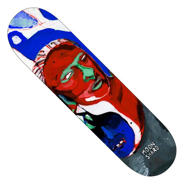 Дека для скейтборда MOON SHARD Phantom (Blue)