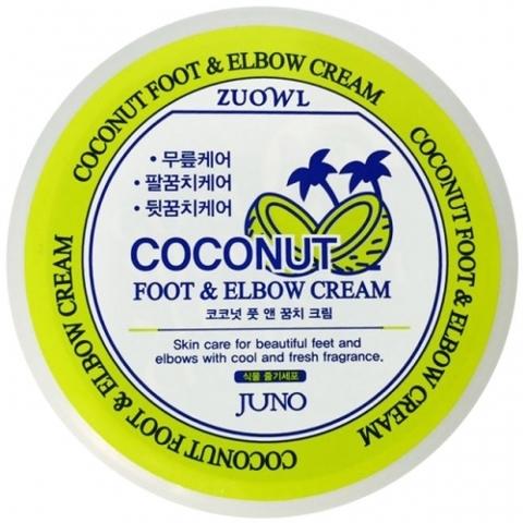 Juno Coconut Foot & Elbow Cream крем для ступней и локтей с экстрактом кокоса