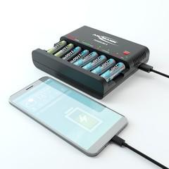 Быстрое зарядное устройство Powerline 8 (AA, AAA)