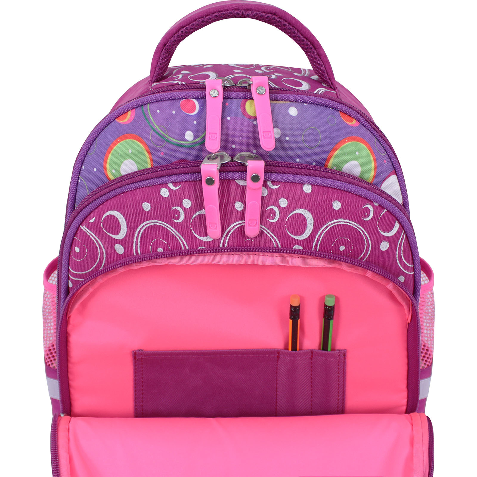 Рюкзак школьный Bagland Mouse 143 малиновый 501 (0051370) фото 6