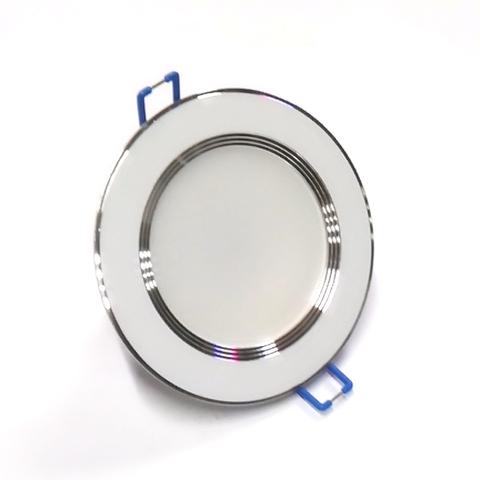 Светодиодный Led светильник встраиваемый Feron AL 527 Белый (круглый) 7W 4000K