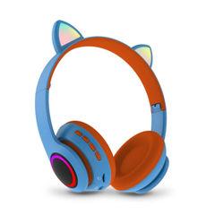 Беспроводные наушники со светящимися ушками кошки Cat Ear СТ-66