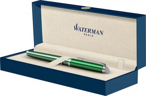 Ручка перьевая Waterman Hemisphere French riviera CHATEAU VERT в подарочной коробке123