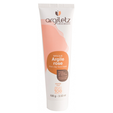 Маска для лица с розовой глиной Argiletz, 100 гр
