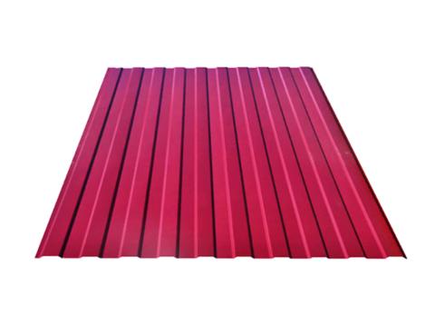 Профнастил C8 1.18x2 м красный 3005