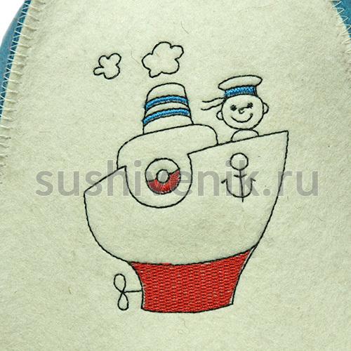 Шапка Морячок детская