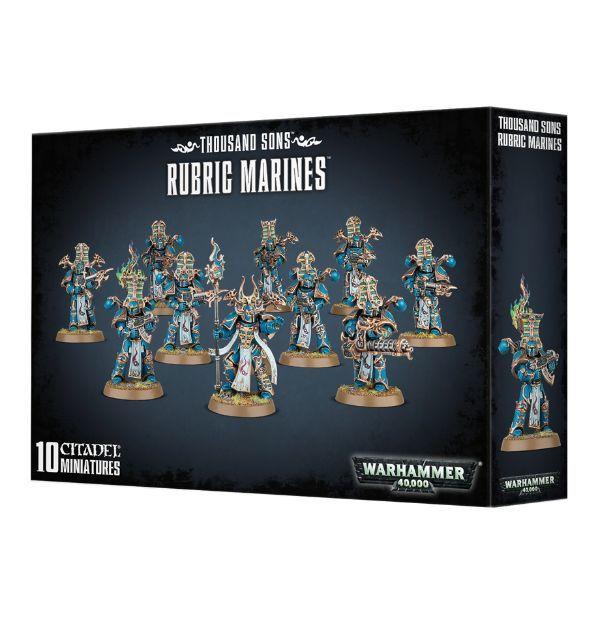 Rubric Marines. Коробка