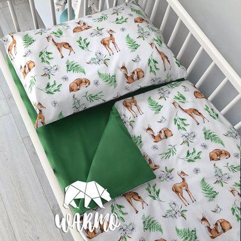 Дитяча постіль з оленями фото