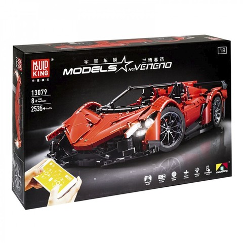 Электромеханический конструктор Mould King Models 13079 Lamborghini Veneno