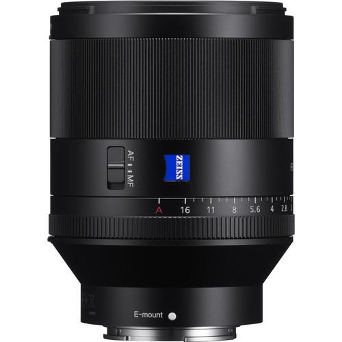 Полнокадровый светосильный объектив Sony Carl Zeiss Planar T* SEL50F14Z
