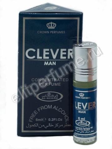 Clever Man 6 мл арабские масляные духи от Аль Рехаб Al Rehab