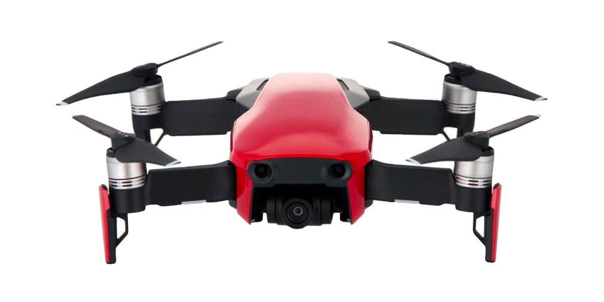 Квадрокоптер DJI MAVIC AIR (EU) Flame Red, красный