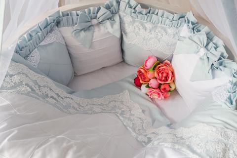 Комплект в круглую/овальную кроватки Angel's dream