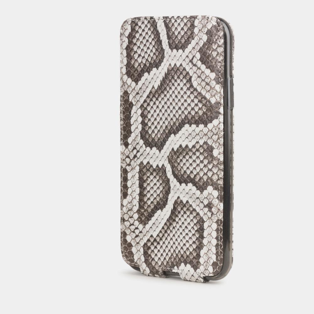Чехол для iPhone 11 Pro Max из натуральной кожи питона, цвета Natur
