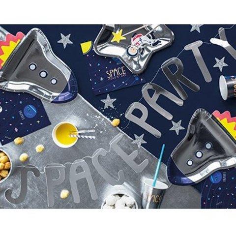 Гирлянда-буквы SPACE PARTY Космос 96см