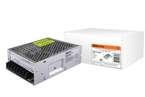 Блок питания  150Вт-12В-IP20  для светодиодных лент и модулей, метал TDM