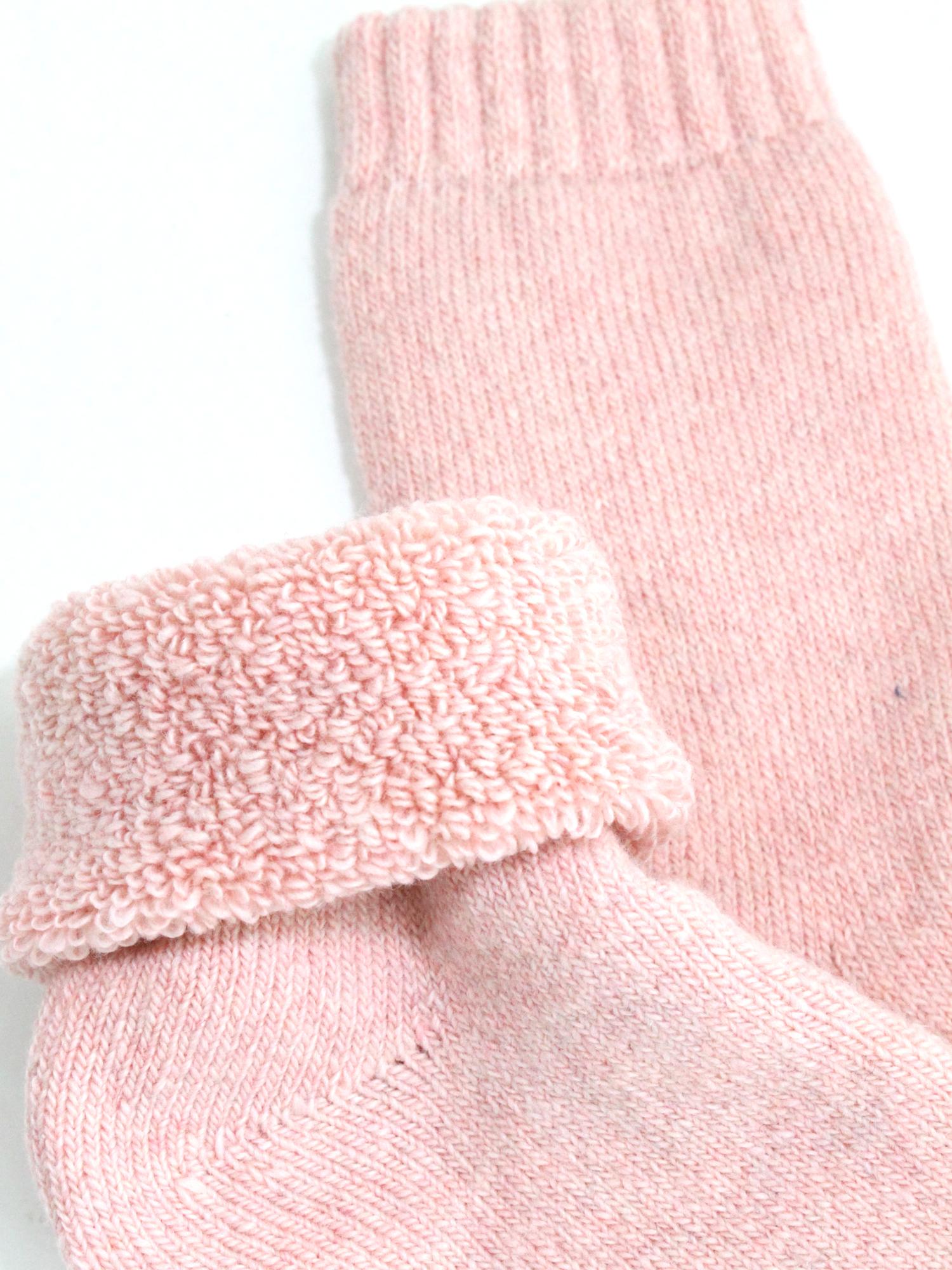 Носки Шерстяные Розовые