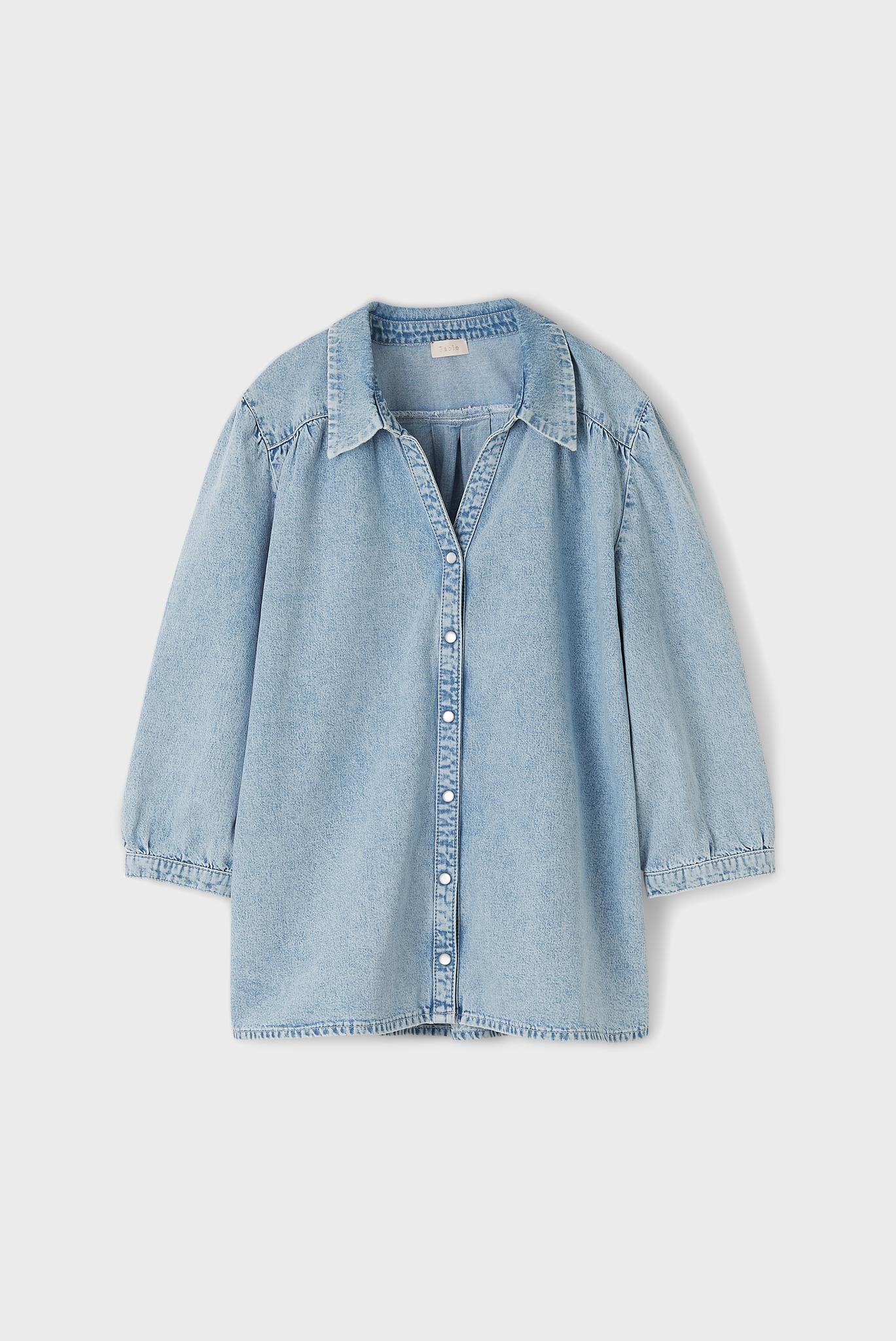 COROLLE - Джинсовая рубашка свободного кроя