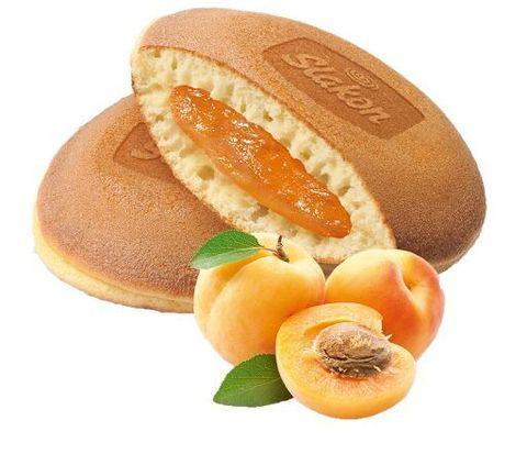 """Бисквитное печенье панкейк  """"Слакон"""" с абрикосовым вкусом 500 г"""