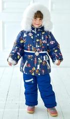 Зимний комбинезон-костюм Leeloo синий