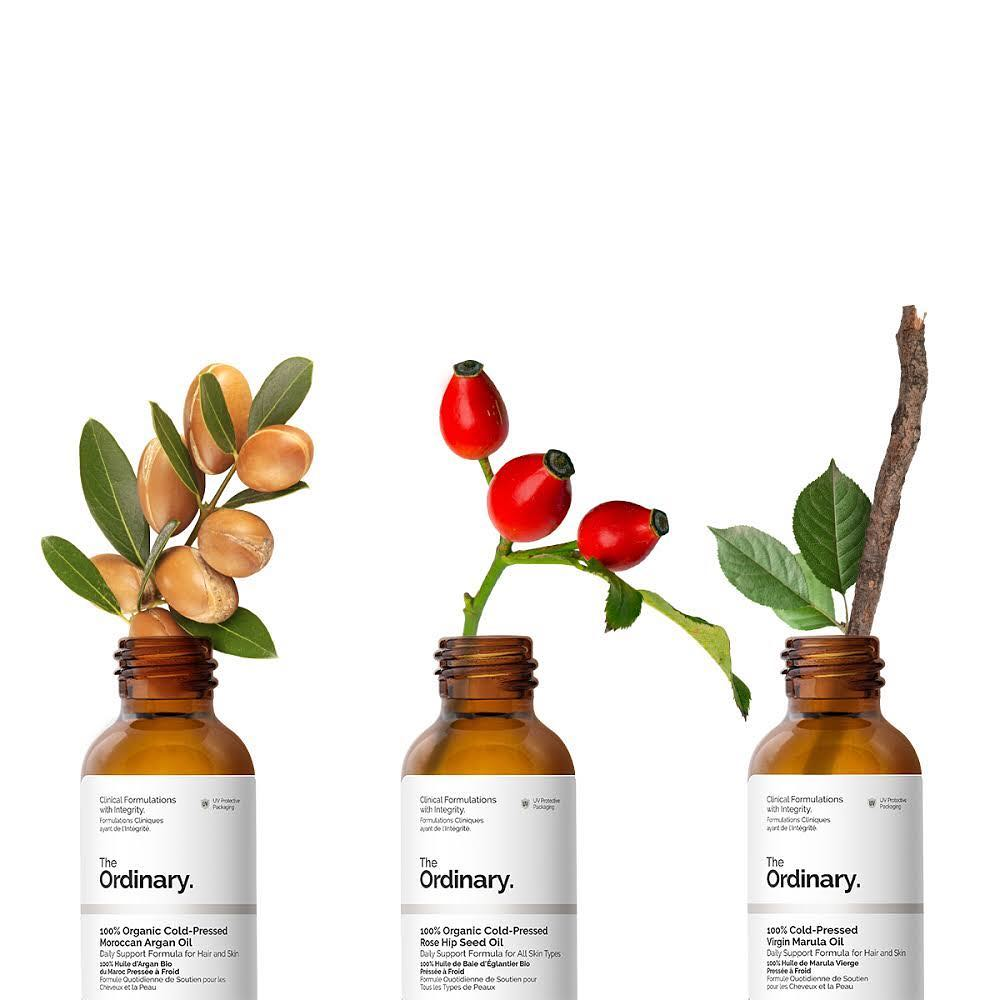 The Ordinary 100% Organic Cold-Pressed Rose Hip Seed Oil масло шиповника 30мл