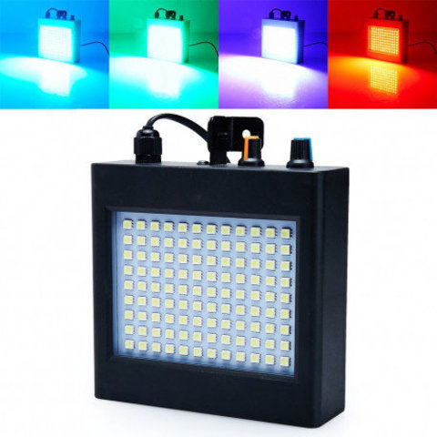 Диско LASER  RGB Стробоскоп RGB светодиоды