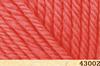 Пряжа Fibranatura INCA 43002 (коралловый)