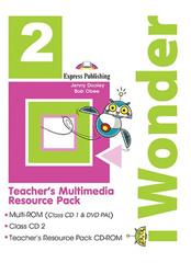 iWonder 2 Teacher's Multimedia Resource Pack (Set Of 3)