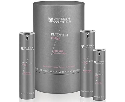 JANSSEN COSMETICS Набор Face Care c пептидами и коллоидной платиной | Face care set