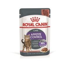 Пауч для взрослых кошек Royal Canin Appetite Control Care для контроля выпрашивания, мелкие кусочки в соусе