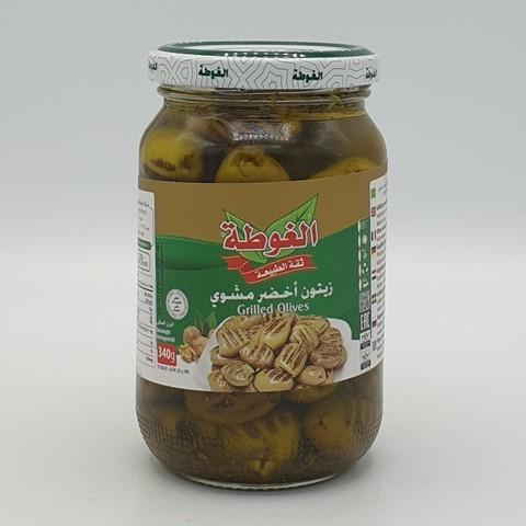 Оливки зеленые на гриле ALGOTA, 340 гр