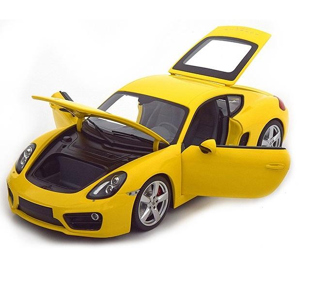 Коллекционная модель Porsche Cayman 2013