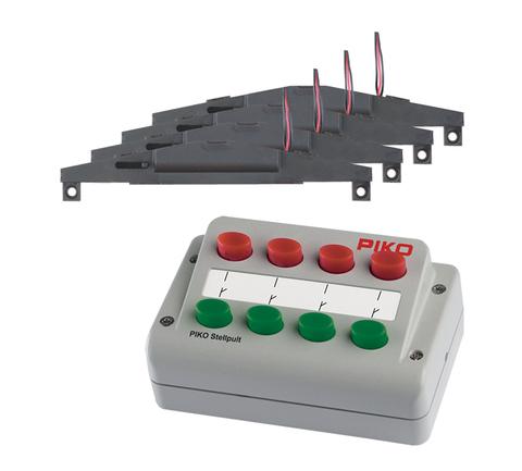 Cтрелочный пульт и набор из 4х-стрелочных электроприводов