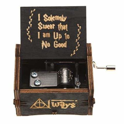 Music Box Harry Potter (Black)