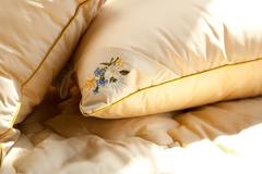 Подушка бамбуковая 50х68 Цветочное разнотравье