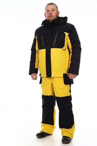 Зимний костюм Грант (мембрана черно-жёлтый) -35