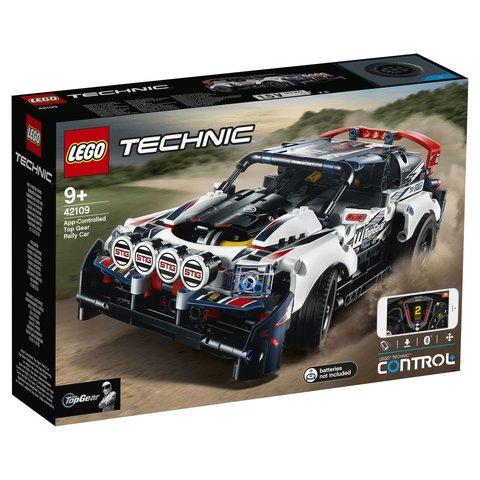 LEGO Technic: Гоночный автомобиль Top Gear 42109 — App-Controlled Top Gear Rally Car — Лего Техник