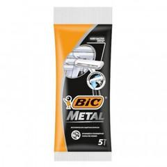 Бритва одноразовая BIC Metal с защ. металл. покрытием, 5шт 8994183