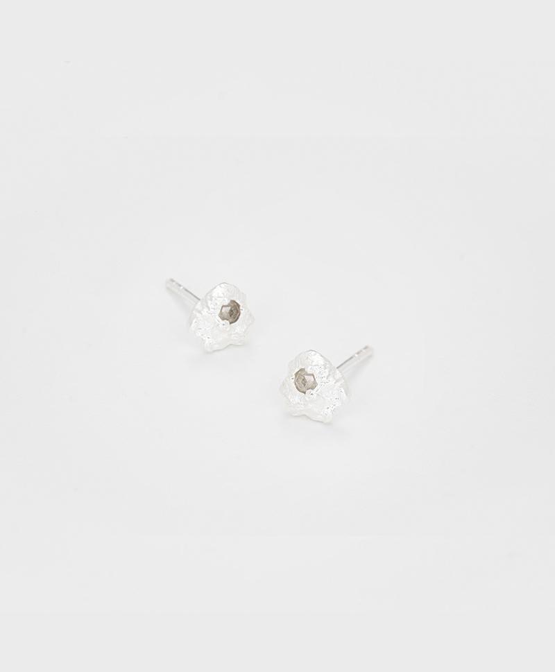 Серьги Diamond Rain silver (XS)