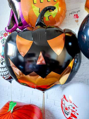 Воздушный шар тыква