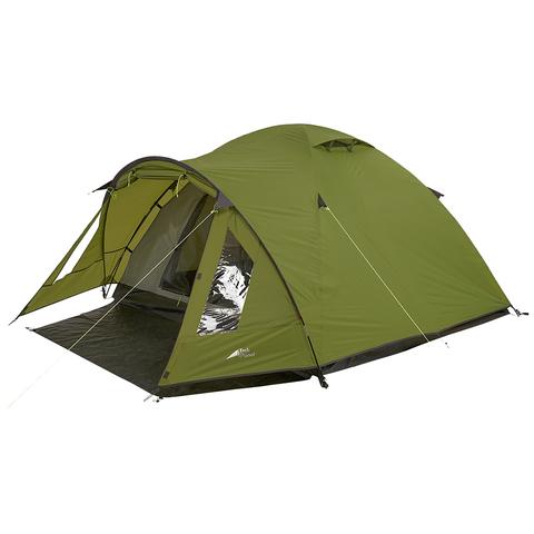 Палатка Trek Planet Bergamo 4, зеленая, 315х250х140 см