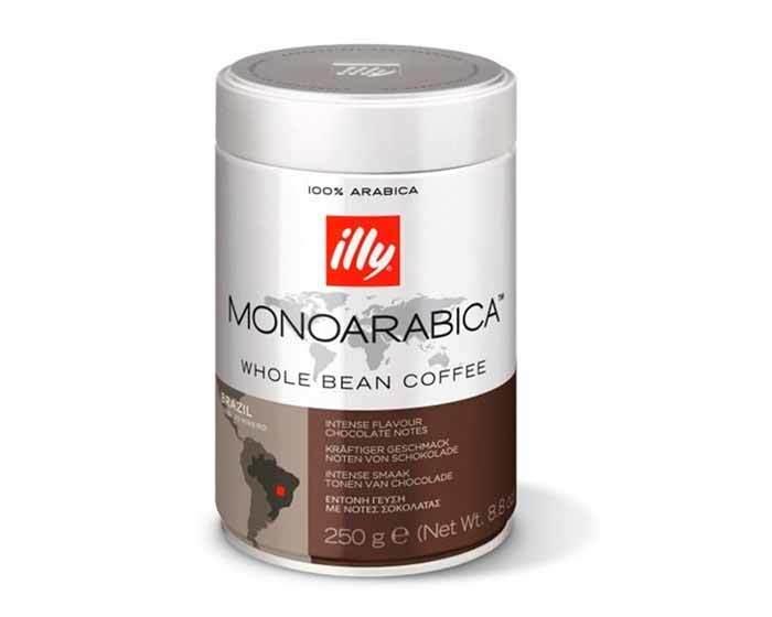 Кофе в зернах Illy Monoarabica Brazil, 250 г