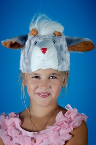 Карнавальная шапочка Козлёнка 1