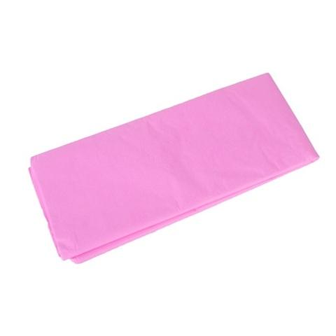 Бумага тишью 10 шт., 50x66 см, цвет: розовый